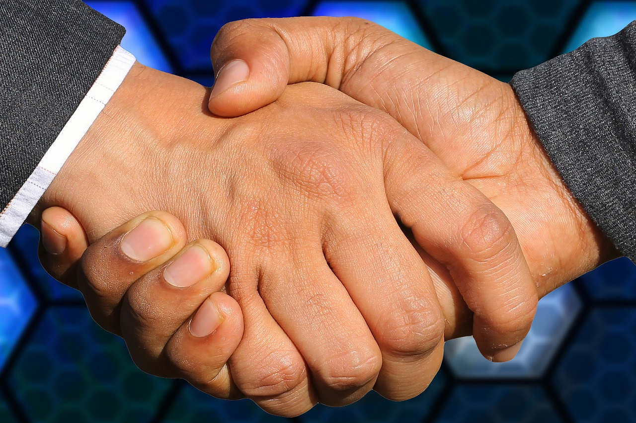 Handshake Business Agreement Deal  - TheDigitalArtist / Pixabay